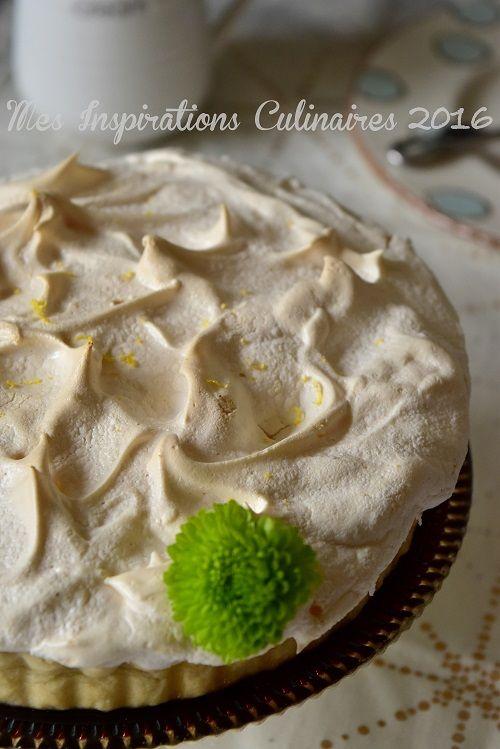 Tarte au citron meringuée Végan / Mes inspirations culinaires