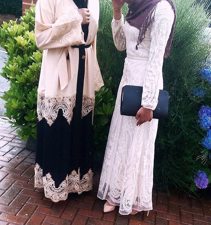 IG: ModestRail    IG: Beautiifulinblack    Modern Abaya Fashion   