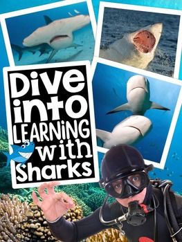 Buy the bundle and SAVE: Nonfiction Resources for the YEARDive into learning with sharks! Your students will become shark experts with the help of this packet.This Earth Day packet covers the following topics:- About Sharks- Different Sizes of Sharks- Where Do Sharks Live?- What Do Sharks Eat?- Shark Babies- Shark Lifespan- All About Whale Sharks- All About Hammerhead Sharks- All About Tiger Sharks- All About Great White SharksHere is what is included:Part 1: Posters to hang in your…