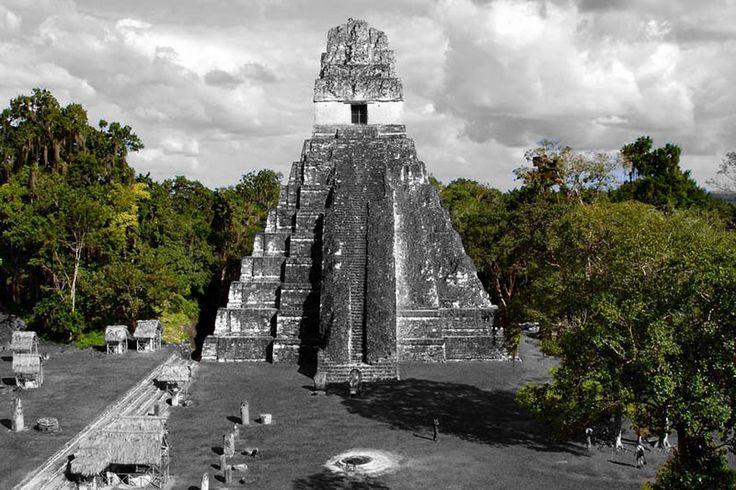 Jaguar Temple - Guatemala