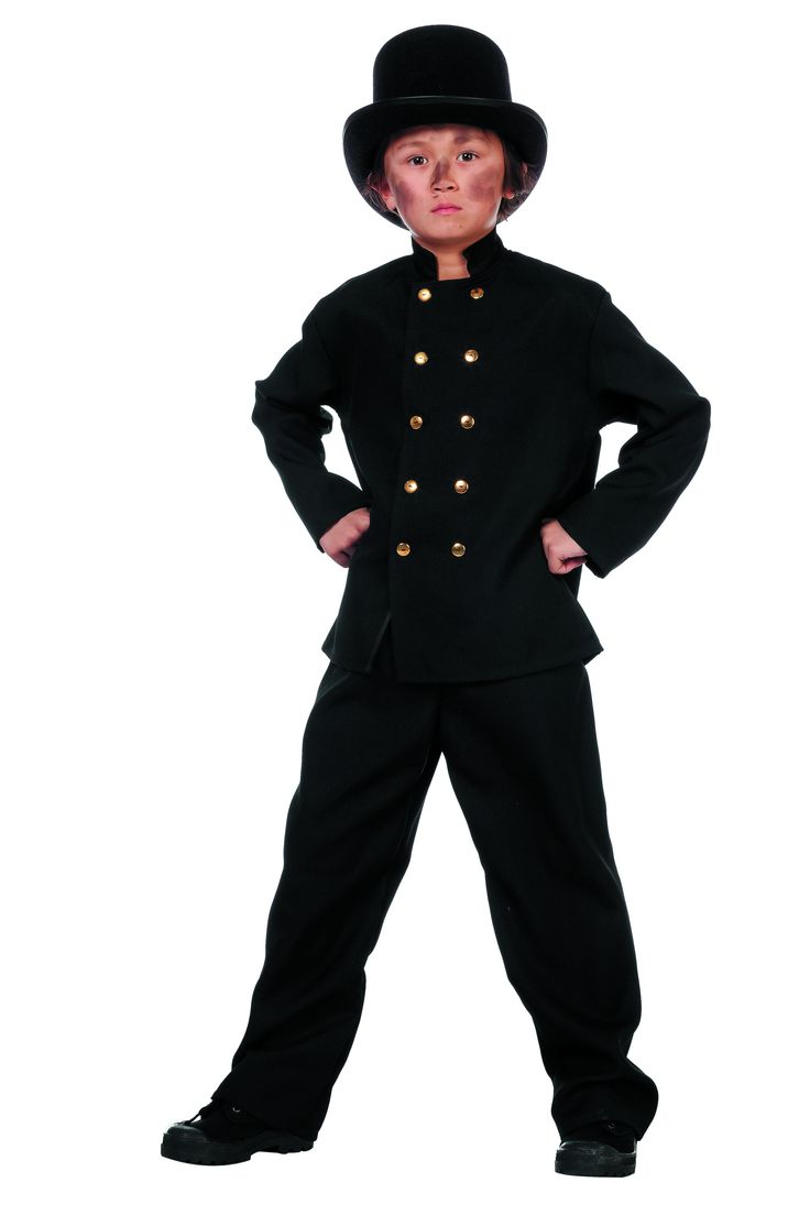 Dickens Schoorsteenveger Jongen Kostuum - Feestkleding 365