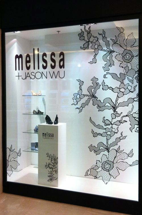 MELISSA SHOES Brazil Jason wu colaboration Madrid Store Front Design by The Creative Project Station creative.cps-spain.net