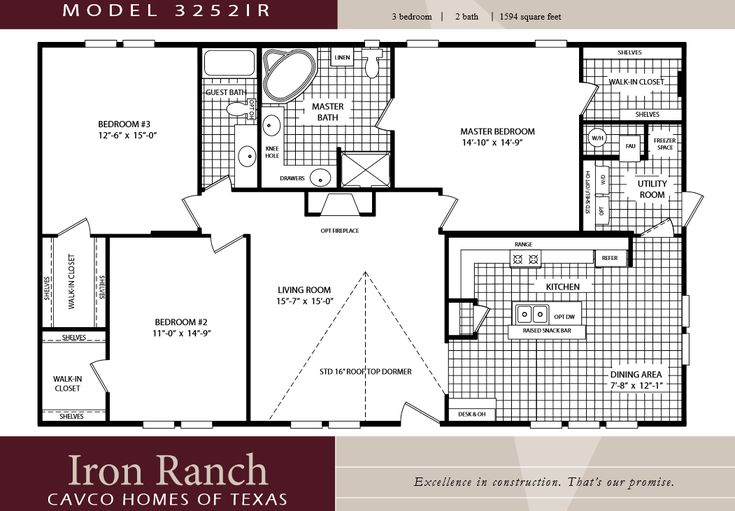 23 best ideas about floor plans on pinterest search for Double wide layouts