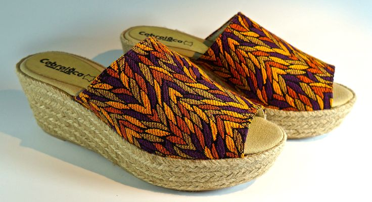 Yute wedges for freshness and comfort. MA-06