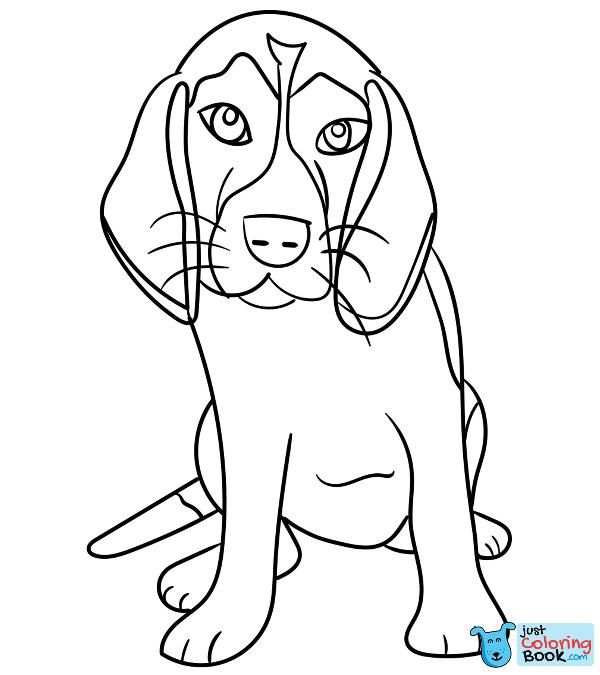 Top 25 Free Printable Dog Coloring Pages Online Pertaining To