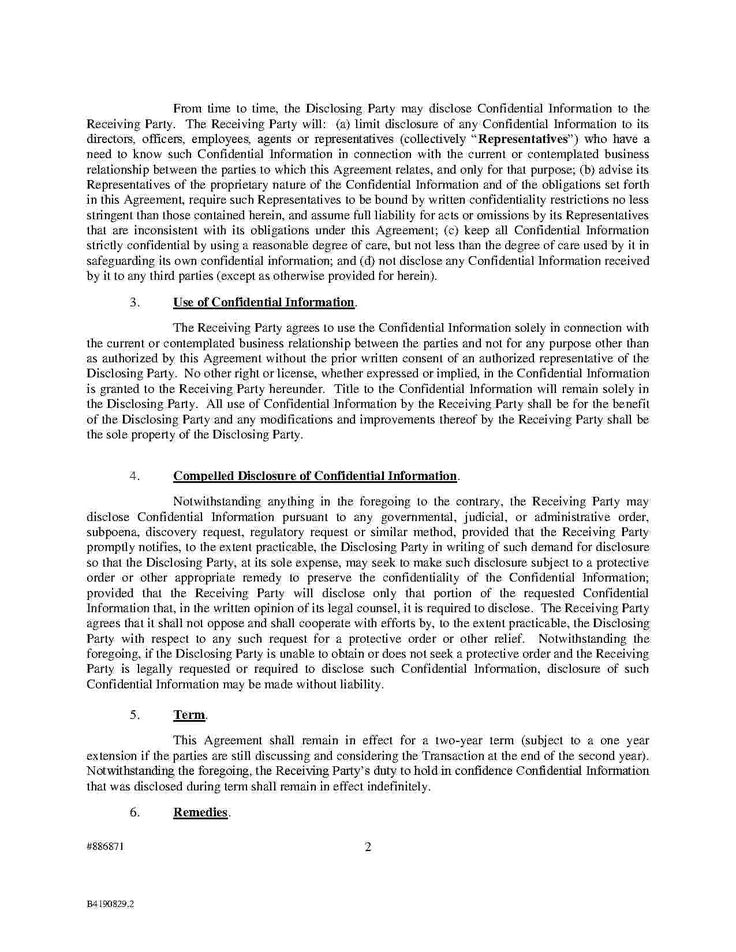 14 best Employment TEMPLATES HUNTER images on Pinterest - employee confidentiality agreement