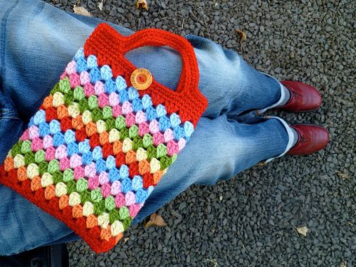 Granny Bag for iPad or Kindle!