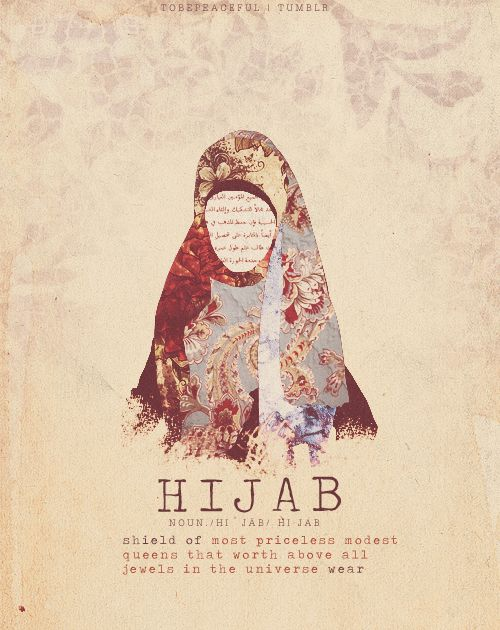 I can't wait to marry Mobeen and start wearing hijabs...burkas and all..soo beautifull..yes modesty is true beauty and shows you respect yourself.body as well..which is just meant for your husband to see in private :) <3