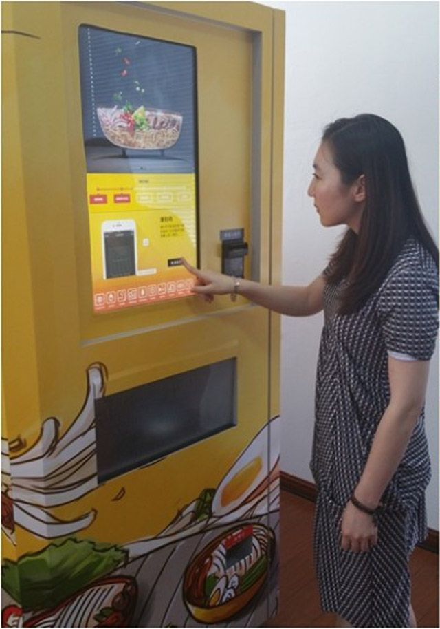 'World's first' beef noodle vending machine to launch in Shanghai