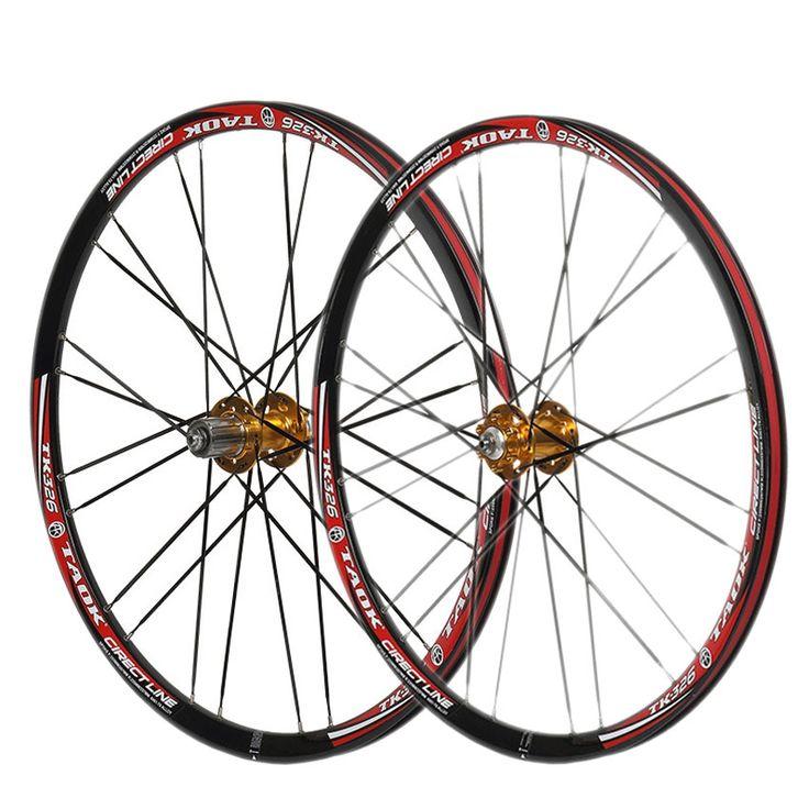 "134.10$  Buy now - http://ali069.worldwells.pw/go.php?t=32506131300 - ""aluminum rim mountain bike wheels  26""""  2 perlin  Bearing Bike Parts 24 holes hub circle road bike wheels with Quick Release"" 134.10$"