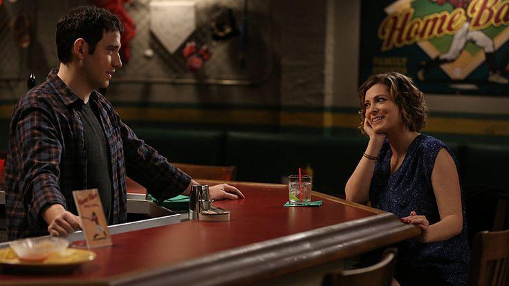 Santino Fontana and Rachel Bloom in Crazy Ex-Girlfriend.