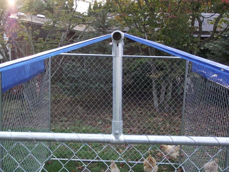 Make Your Own Dyi Dog Kennel Roof Cover Diy Dog Kennel