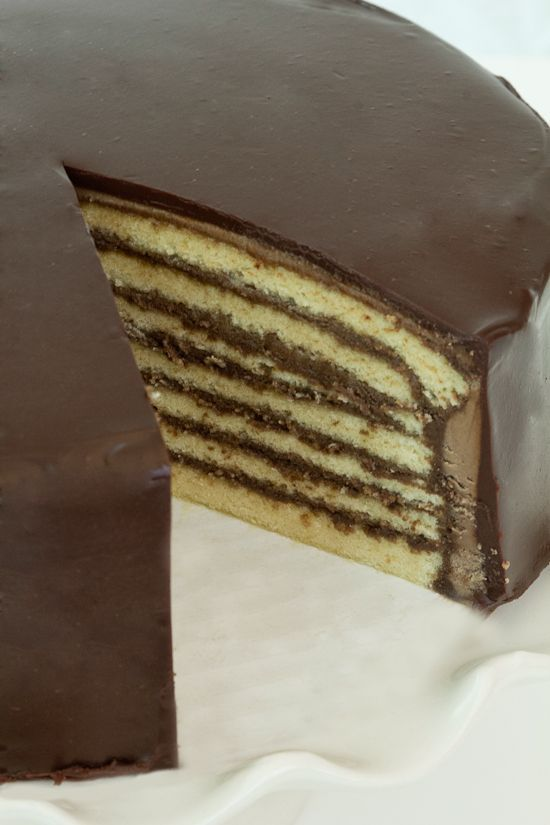 how to make a 7 layer cake