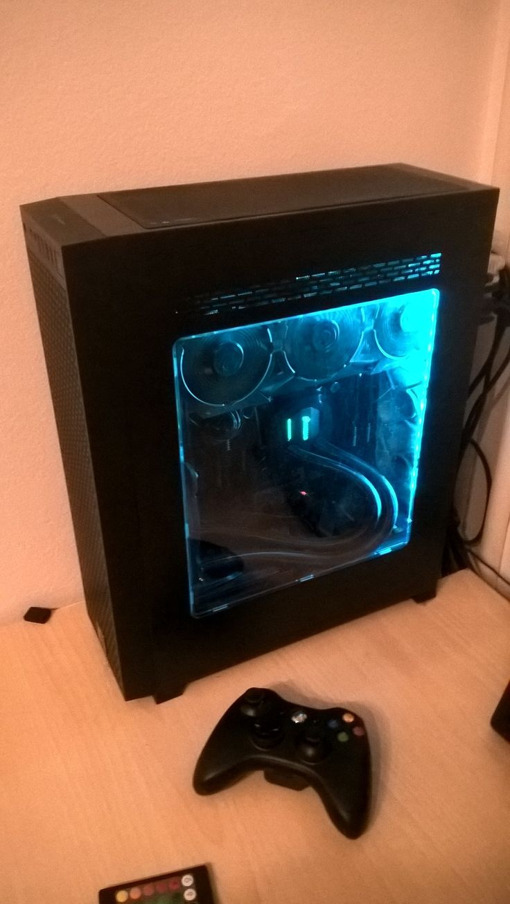 Small Gaming pc I7 5820k @ 4.0 ghz 32gb of ddr4 ram GTX 970 g1 H110 for cooling All that in small core g1 by TT 240gb ssd samsung evo 750gb WD black HDD  It was hot and loud, so 2x8cm noctuas at back helped a lot