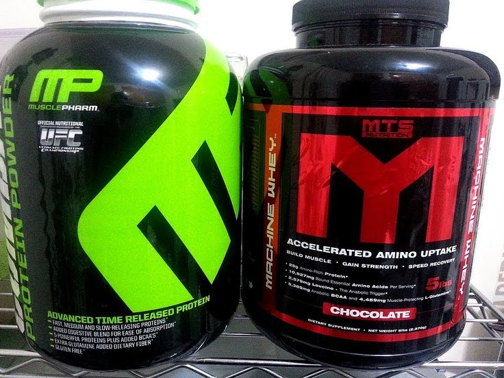 MUSCLE PHARM COMBAT VS MTS NUTRITION MACHINE WHEY PROTEIN