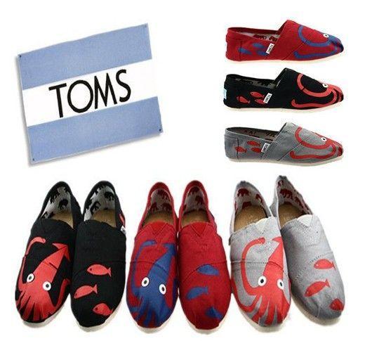 Cheap Toms Women/men shoes Outlet octopus sale