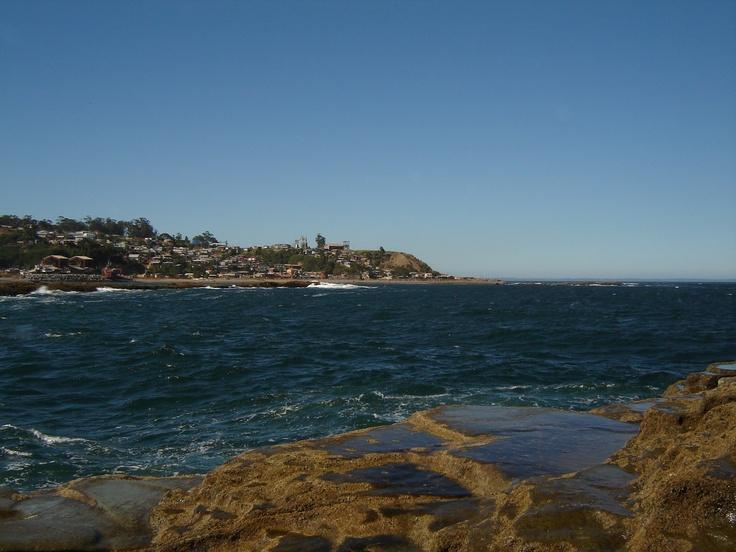 El Morro...  pesca del Pejerrey (al fondo se ve El Blanco)