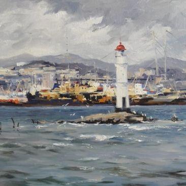 В.Косенко. Морской город