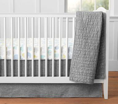 Remy Belgian Flax Linen Nursery Bedding