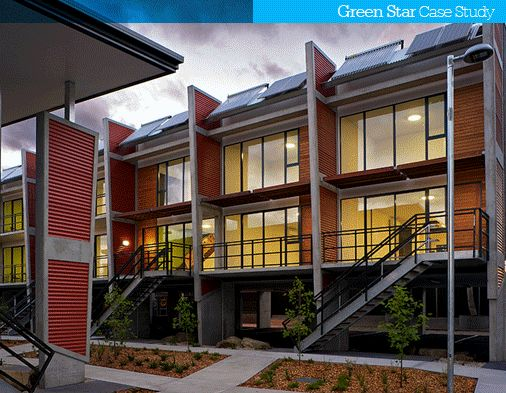 Green star hopkins street affordable housing recognised as one of australia s most - Affordable social housing ...