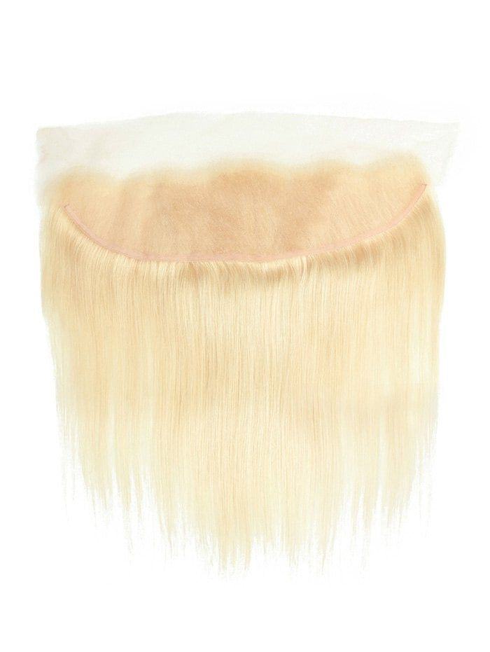Straight Solid Human Hair Weft with Lace Front #Ad…