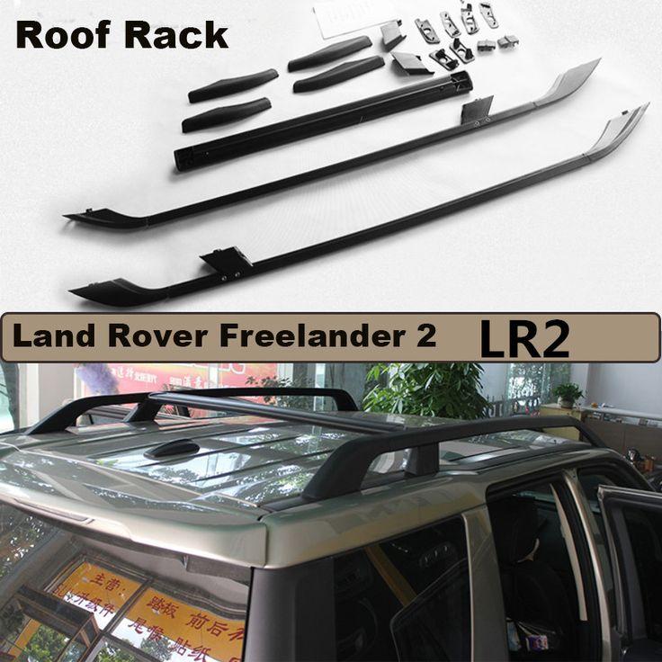 Крыше автомобиля Стойки Чемодан стойки для Land Rover Freelander 2 LR2 2004-2017 высокое качество Фирменная Новинка алюминиевый сплав авто аксессуары