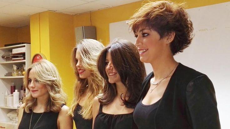Así de guapas se fueron nuestras modelos tras el Atelier de Valencia. #blue01stylist #cursos #formacion