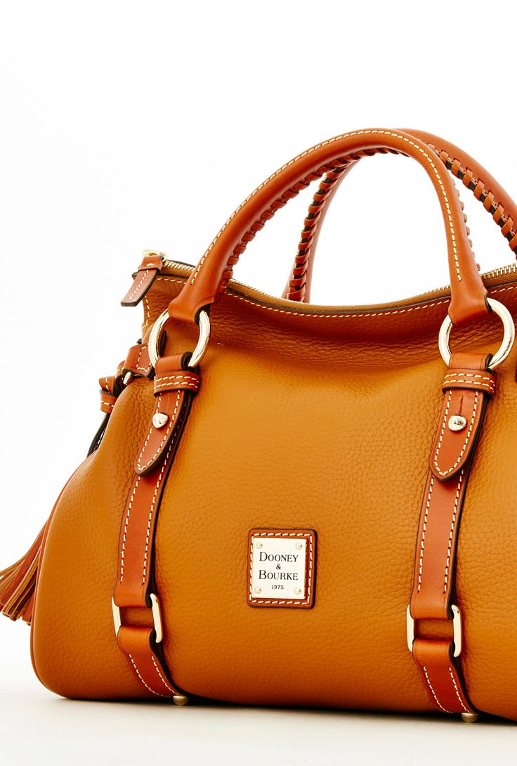 Pin this image to enter to win a Dooney & Bourke Pebble Grain Small Satchel. #PinItToWinIt. http://woobox.com/9fw8d7