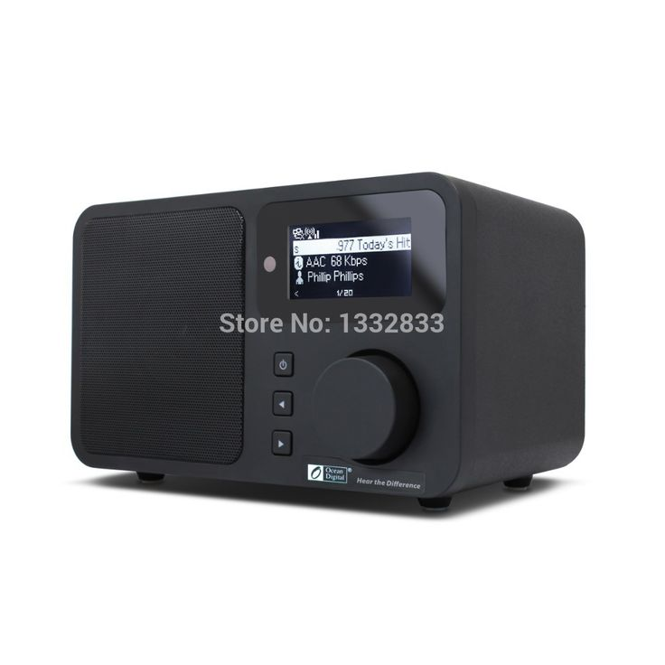 Find More Radio Information about New Ocean Digital Brand New Black Desktop Home Audio Music Media Player Speaker Wireless WLAN WiFi Internet Radio Receiver,High Quality radio gift,China radio speaker Suppliers, Cheap speaker feet from Super Audio Supplier on Aliexpress.com