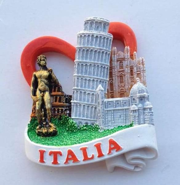 Italy Panorama Fridge Magnet