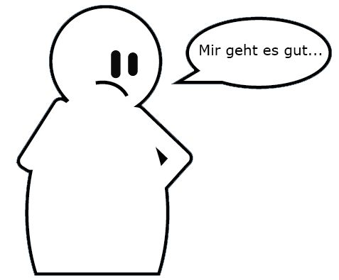 how to say i m fine in german