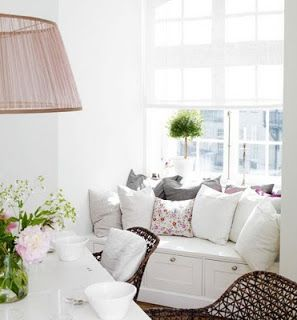 Decoración e Ideas para mi hogar: Ideas para decorar el espacio debajo de las ventanas