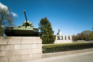 #Soviet War Memorial in #Großer #Tiergarten in #Berlin, #Germany. During the #ColdWar, the Soviets maintained control of the memorial even though it was located in capitalist-controlled West Berlin.