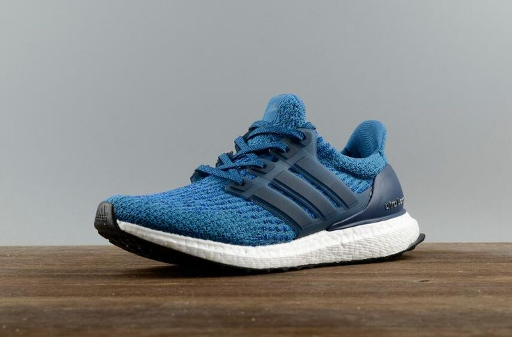 Free DHL Shipping Authentic Adidas Ultra Boost 3.0 Real Boost Blue BA8844 for Online Sale_02