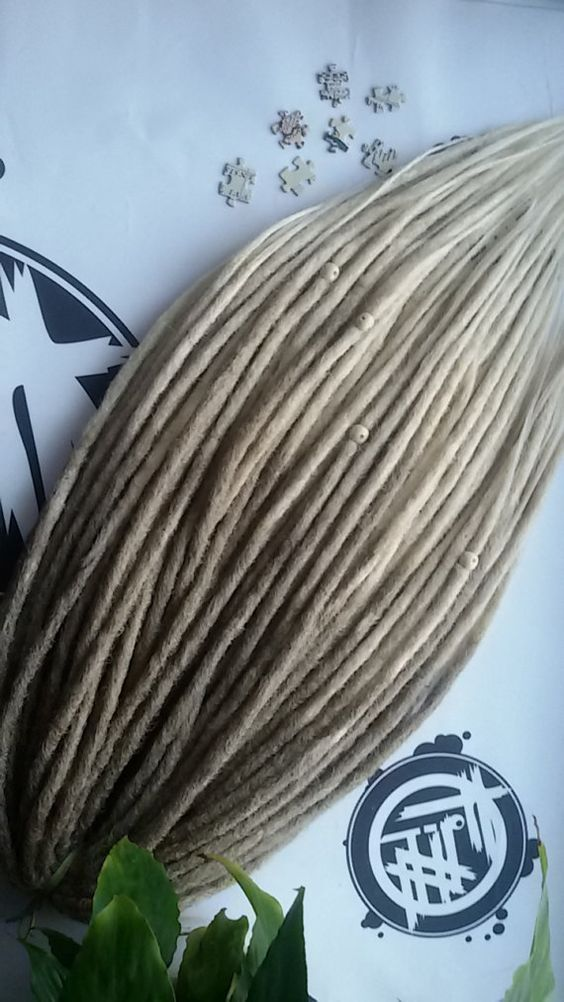 d5625fc34c8ab 16s/302 OMBRE SYNTHETIC DREADS full set double ended dreadlocks ...