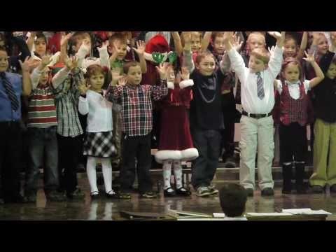 Haley's 1st Grade Holiday Concert - Boogie Woogie Reindeer