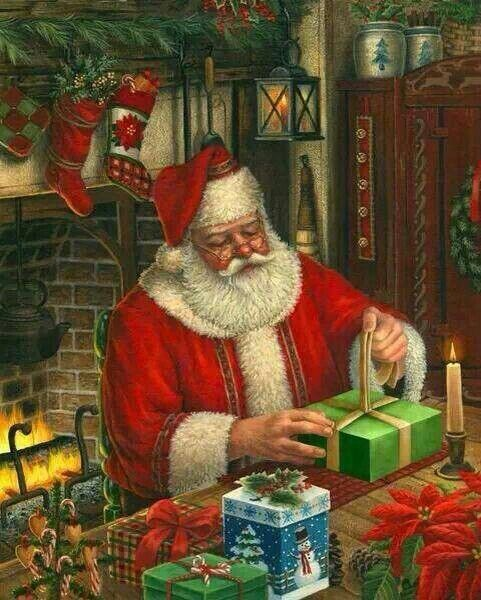 1085 Best SANTA Images On Pinterest Father Christmas