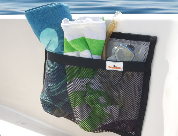 For your Boat:  Boat organizer help keep your boat clean and organized.  Find your keys, wallet, ski gloves, towels, shoes stored in one neat place.  K7Watersports.com