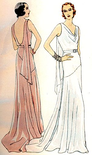 art deco inspired wedding dress | Historic Dress: Early Art Deco (1911-1929)