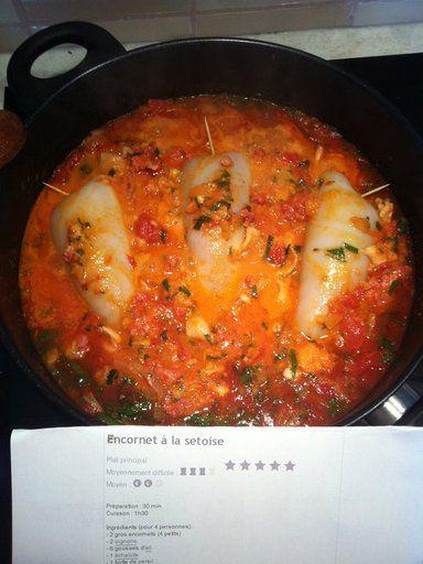 17 best images about cuisiner les produits de la mer on - Cuisiner des encornets ...