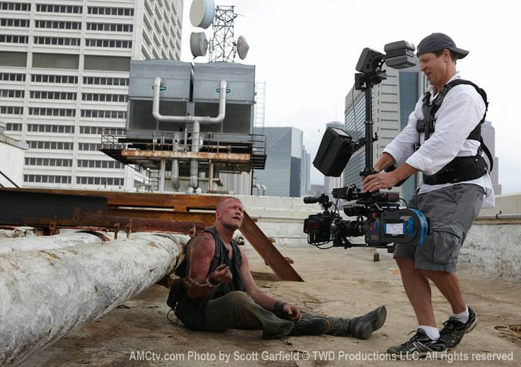 Episode 3: Michael Rooker (Merle Dixon) and Chris Jones (B Camera and Steadicam Operator)