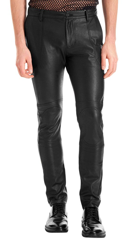 Faux leather pants can be worn as a casual style with a simple tee shirt and jacket for a day around town. These pants dress up wonderfully with just a few simple accessories like feather earrings or chunky silver and stone bracelets.
