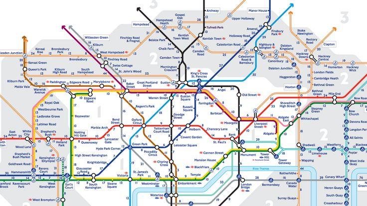 Nytt kart viser deg London på en ny måte - Bergens Tidende