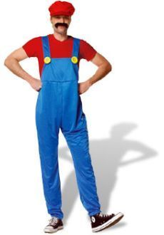 Super Mario available to hire sizes small, med and large