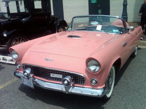 1950s baby pink Bently