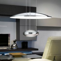 Lemos LED Taklampe Nikkel