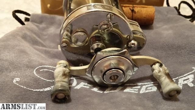 Antique Pflueger Fishing Reels | For Sale: OLD VINTAGE FISHING REEL PFLUEGER AKRON 1895 w/Push Botton ...