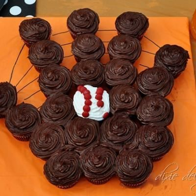 Baseball Team Party {Party Food Ideas} I really made this and it was a big hit.