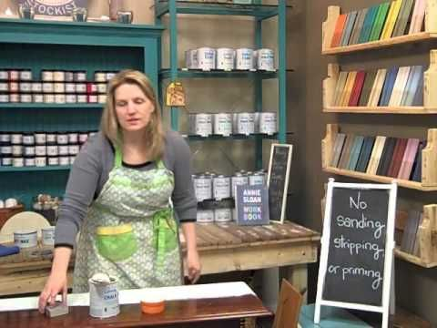 How to get a smooth finish with Chalk Paint® by Annie Sloan - YouTube