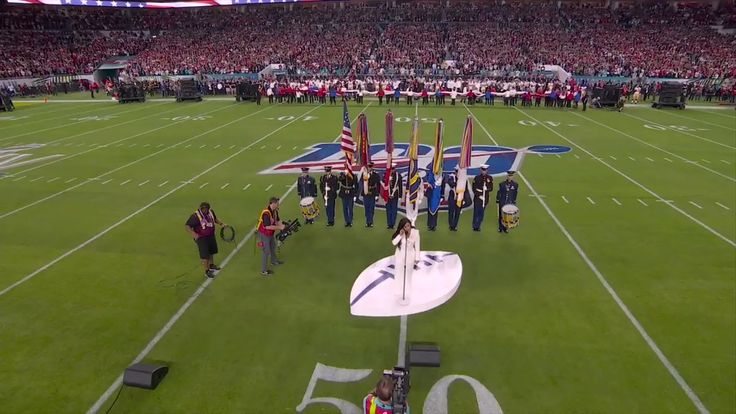 "NFL on Twitter "".ddlovato sings the National Anthem"